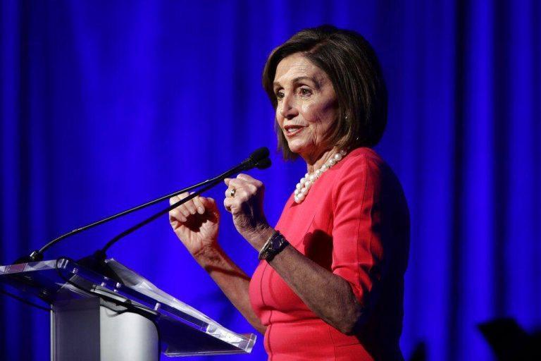 House Speaker Nancy Pelosi of Calif., speaks during a Pennsylvania Democratic Party fundraiser in Philadelphia, Friday, Nov. 1, 2019. (Matt Rourke/AP Photo)