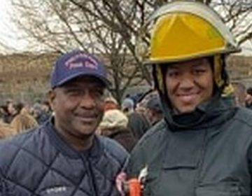 Jeffery Stowe, (left), and Daynese Stowe will be the first African-American father and daughter to actively serve as firefighters at the same time in the history of the Philadelphia Fire Department. (Provided/Leanne Stowe/Philadelphia Tribune)
