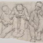 A Day Off, by Włodzimierz Siwierski, Auschwitz 1941 (Auschwitz-Birkenau State Museum)