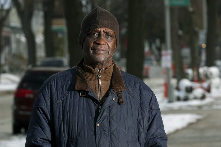 Jerome Dillard poses in Milwaukee. Dillard, a former inmate who is now the state director of Milwaukee-based advocacy group Ex-incarcerated People Organizing, supports ending prison gerrymandering. (Morry Gash/AP Photo)