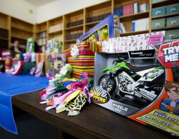 In this file photo, toys considered dangerous, according to U.S. Public Interest Research Group's 28th annual Trouble in Toyland report, are displayed during a news conference in Washington. (Manuel Balce Ceneta/AP Photo)