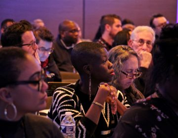 About 200 journalists attended the Better Gun Violence Reporting Summit on Nov. 8, 2019 (Emma Lee/WHYY)