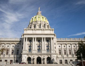 The state Capitol building in Harrisburg. (Tom Downing/WITF)