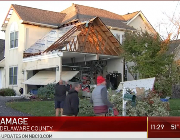 A tornado touched down in Delaware County on Halloween (NBC10)