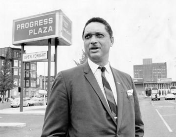 The Rev. Leon H. Sullivan helped found the first African American-owned shopping center, Progress Plaza (OIC Philadelphia/The Philadelphia Tribune)