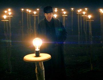 Benedict Cumberbatch as Thomas Edison.