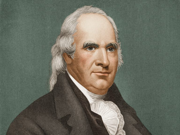 Engraved portrait of George Clinton, a former U.S. vice president who was also New York state's first and longest-serving governor, in the late 18th century — not long after the first sign of the word 'gubernatorial' appeared in the English language. (Getty Images)