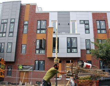 New condos at 1834 Frankford Avenue (Emma Lee/WHYY)