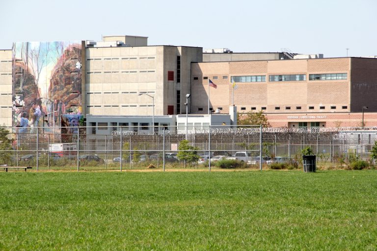 The Riverside Correctional Facility on State Road in Philadelphia. (Emma Lee/WHYY)
