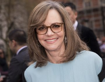 Sally Field poses for photographers upon arrival at the Olivier Awards in London, Sunday, April 7, 2019. (Photo by Vianney Le Caer/Invision/AP)