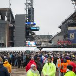 Thousands gather at Lincoln Financial Field for 120th Annual Army-Navy Game on December 14th 2019 in Philadelphia, PA. (Emily Cohen for WHYY)