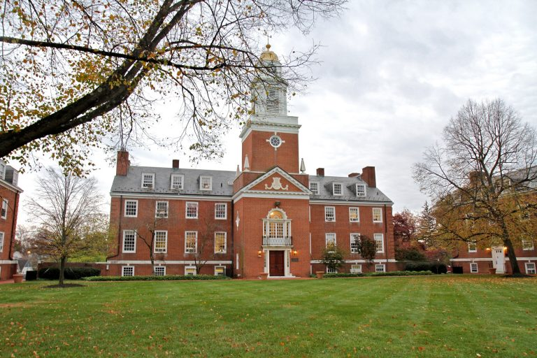 Williamson Hall at Westminster Choir College in Princeton, New Jersey. (Ximena Conde/WHYY)