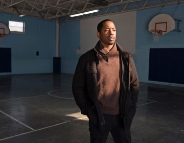 Paul Collins-Hackett works at Youth Opportunity Office in Albany, N.Y.  Collins-Hackett draws on hisown personal or family struggles to help young people get through theirs. (Richard Beaven for NPR)