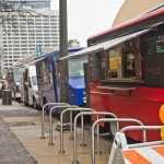 City Council will vote Thursday on whether to ban food trucks near Drexel University's campus. (Kimberly Paynter/WHYY)