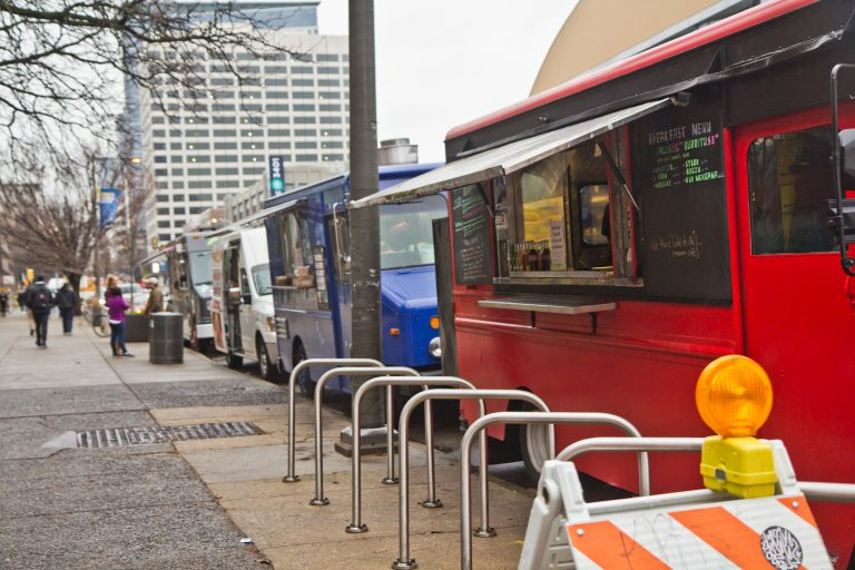 Drexel University wants to evict food trucks from a busy block of Market Street
