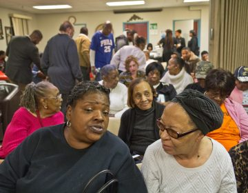 Residents of the 190th district came to a senior housing community room in West Philadelphia to talk about their hopes for the special election in February. (Kimberly Paynter/WHYY)