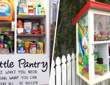 Residents are also encouraged to keep the boxes stocked. Officials say to leave non-perishable, canned goods, and personal care items (excluding sharp objects and chemicals). (Courtesy of The Little Free Pantry)