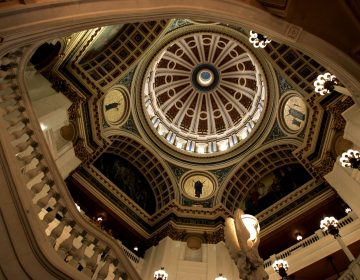 The dome of the Capitol rotunda is seen Wednesday, March 15, 2006, in Harrisburg, Pa. (Carolyn Kaster/AP Photo)