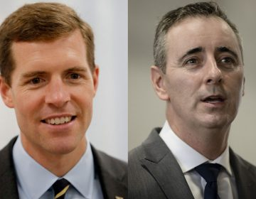Rep. Conor Lamb (left) and Rep. Brian Fitzpatrick (right). (Keith Srakocic and Matt Rourke/AP Photo)