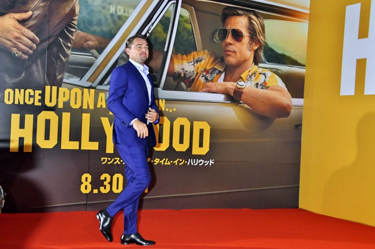Leonardo DiCaprio at the premiere of the movie 'Once Upon a Time in ... Hollywood' at the Tokyo Midtown Hibiya. Tokyo, 26.08.2019 | usage worldwide Photo by: Kento Nara/Geisler-Fotopress/picture-alliance/dpa/AP Images
