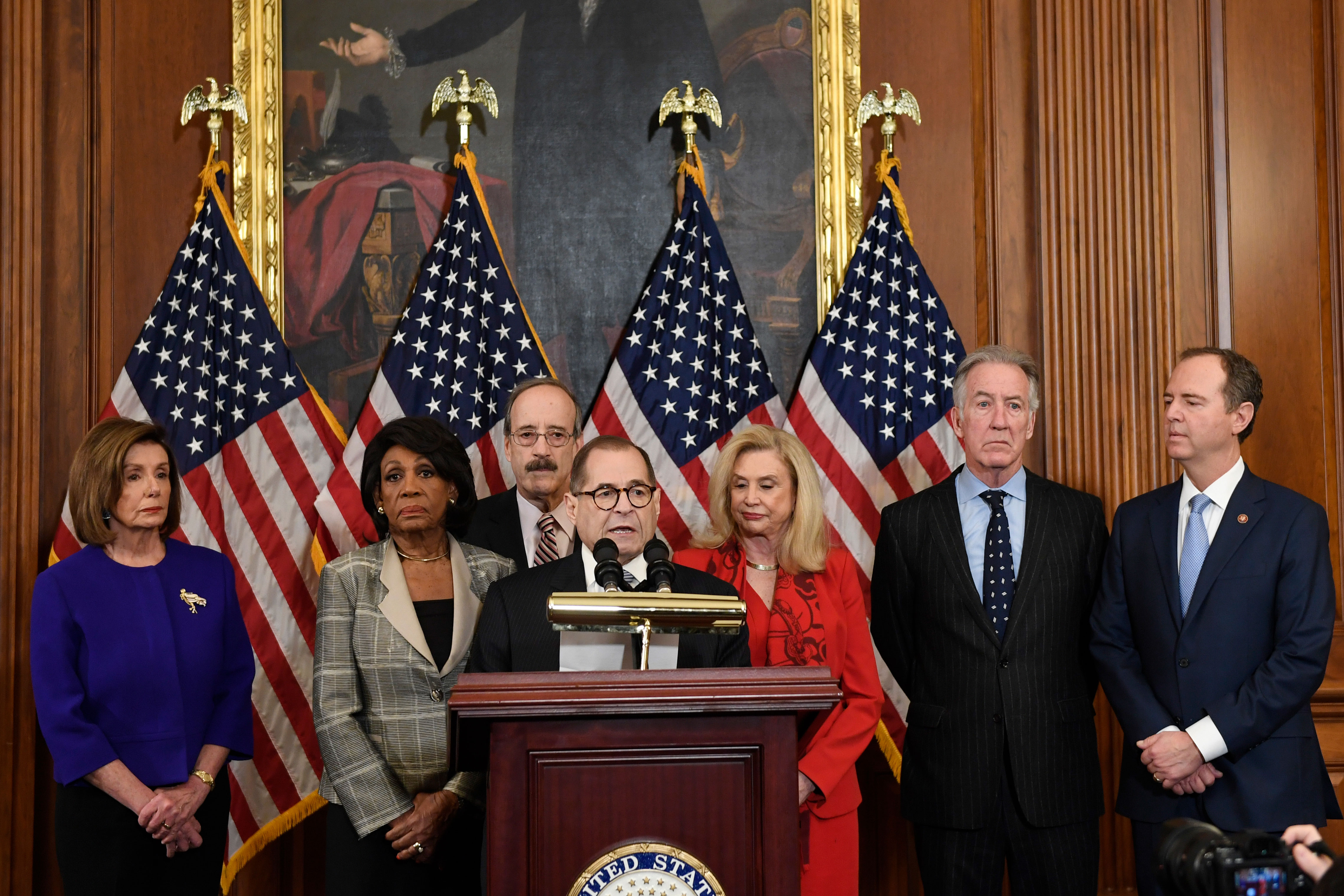 House Democrats unveil articles of impeachment Tuesday