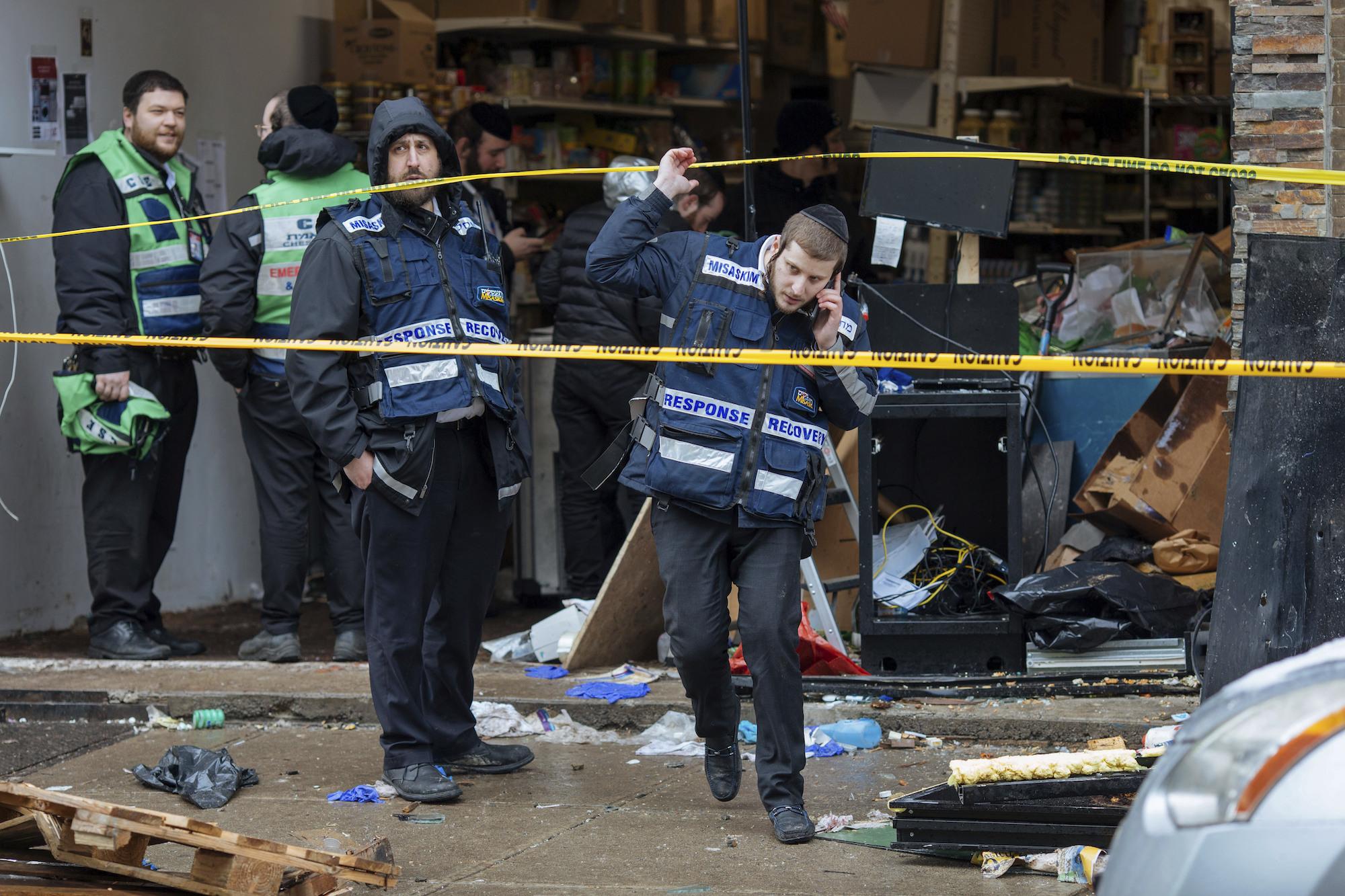 Jersey City's mayor says gunmen targeted kosher market