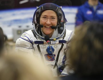 U.S. astronaut Christina Koch set a new record Saturday, Dec. 28, for the longest single spaceflight by a woman, breaking the old mark of 288 days with about two months left in her mission. (Dmitri Lovetsky/AP Photo)