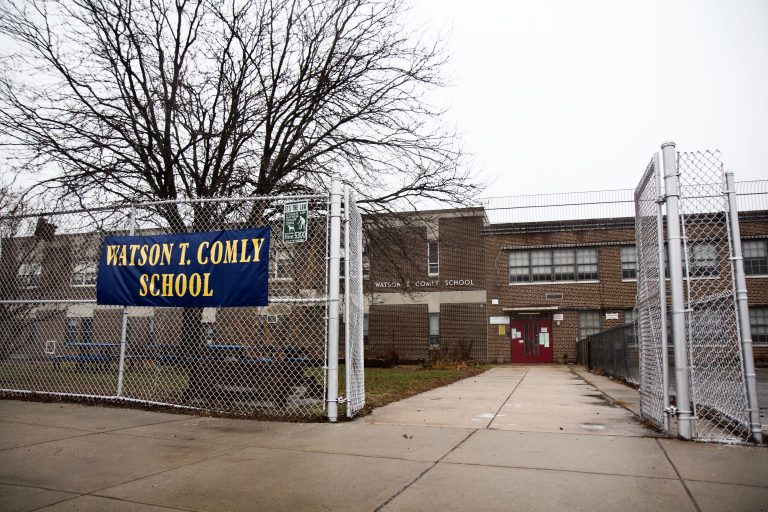 Watson T. Comly School in Northeast Philly (Kimberly Paynter/WHYY)