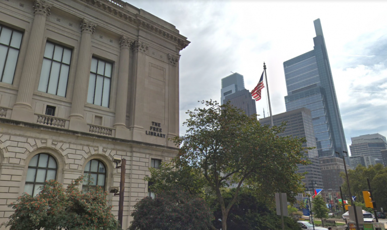 The Free Library of Philadelphia Parkway Central branch. (Google Maps)