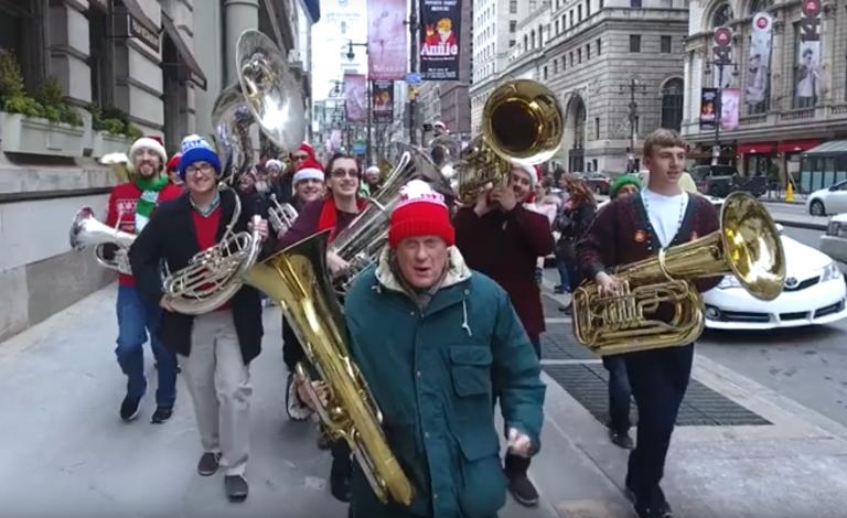 Tuba Christmas (Youtube/Kimmel Center)