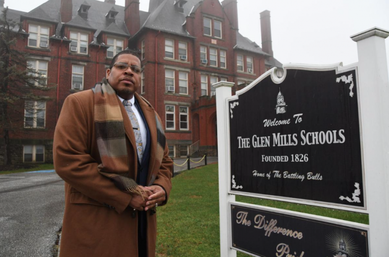 Christopher Spriggs, acting executive director of Glen Mills Schools, has taken the lead in attempting to reopen the shuttered reformatory school. (Abdul R. Sulayman/The Philadelphia Tribune)