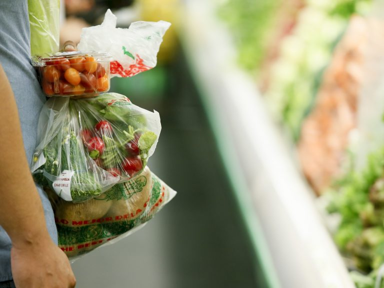 Pennsylvania is joining a federal pilot program to let SNAP recipients buy groceries online. The pilot could begin as early as next month. (Danny Moloshok/AP Photo)