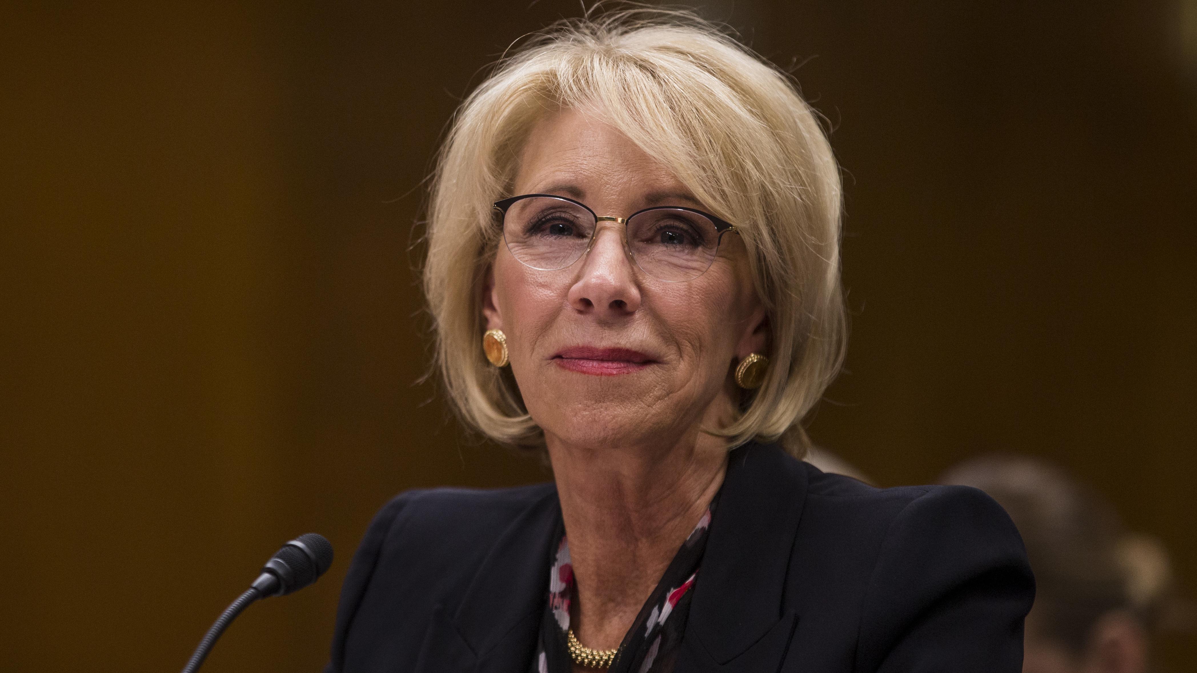 Betsy DeVos overruled Education Dept. findings on defrauded student borrowers