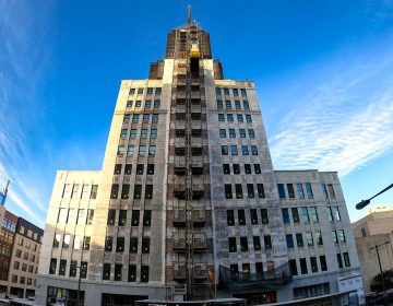 The former Inquirer building and soon to be police HQ (Mark  Henninger/Imagic Digital)