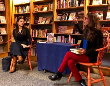 Dr. Amber Abbas and Dr. Shandana Khan speak at a PBC event in mid-November. (Instagram / @pennasiancenter)