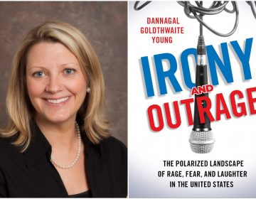 Dannagal Goldthwaite Young, author of Irony and Outrage: The Polarized Landscape of Rage, Fear, and Laughter in the United States