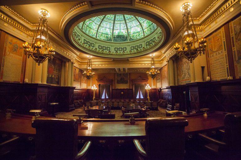 The Supreme Court in Harrisburg. (Christine Baker/PennLive)