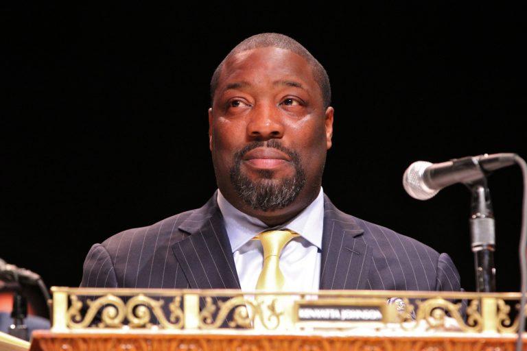 Philadelphia City Council member Kenyatta Johnson. (Emma Lee/WHYY)