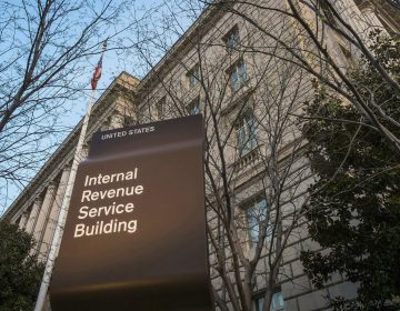 This April 13, 2014, file photo shows the Internal Revenue Service headquarters building in Washington. (J. David Ake/AP Photo)