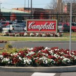 Campbell Soup Company has moved most of its production elsewhere, but the main headquarters is still in Camden, N.J. (Emma Lee/WHYY)