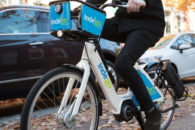 Indego's electric bike (Indego)