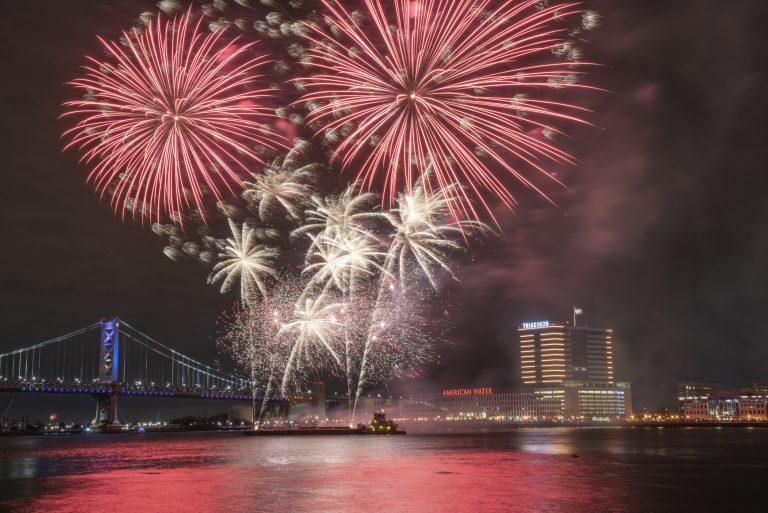camden park fireworks 2020
