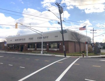 The Mercerville Fire Company in Hamilton Township, N.J. Is one of eight companies that would be consolidated into one entity that would fight blazes. (P. Kenneth Burns/WHYY)