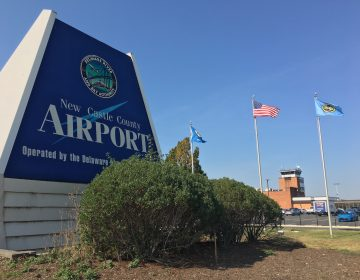 Starting in May, passengers will be able to fly from the Wilmington-New Castle Airport to Orlando. (Mark Eichmann/WHYY)