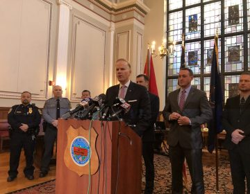 U.S. Attorney William McSwain announces new indictments against members of the