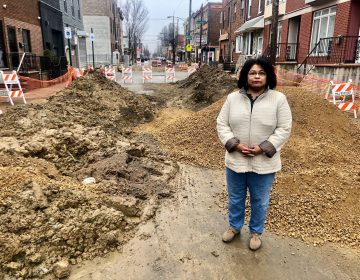 Domenica Federico stands near her home on the 1400 block of South 8th Street. (Courtesy of Kara Gaulrapp)