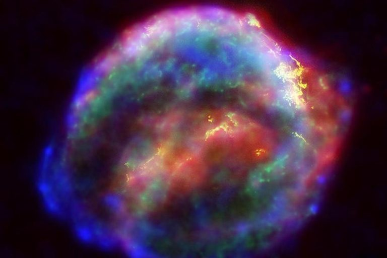 NASA's three Great Observatories -- the Hubble Space Telescope, the SpitzerSpace Telescope, and the Chandra X-ray Observatory -- joined forces to probe theexpanding remains of a supernova, called Kepler's supernova remnant.