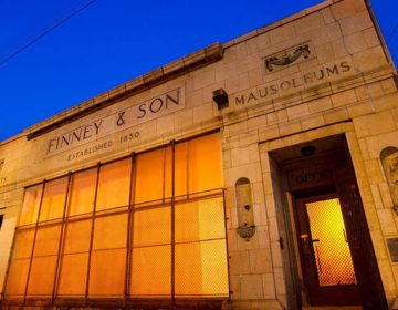 PhilaMOCA is located on North 12th Street in a former mausoleum and tombstone showroom. (Courtesy of PhilaMOCA)
