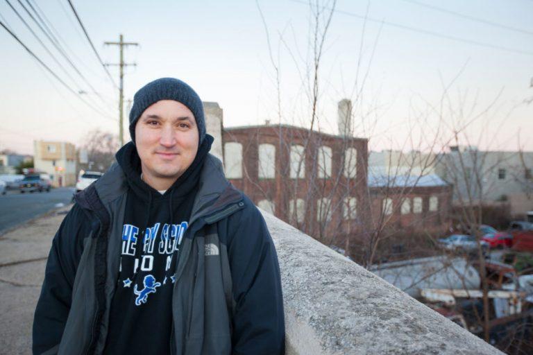 Community Leader, Ryan Kellermeyer, an Indiana native who became an urban activist. (Liyiran (Shelly) Xia/Green Philly)