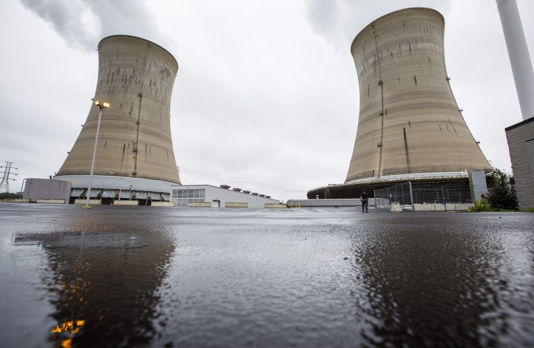 Exelon Corporation Three Mile Island nuclear generating station Unit 1 cooling towers in Londonderry Township, Dauphin County, PA. (Dan Gleiter/PennLive)